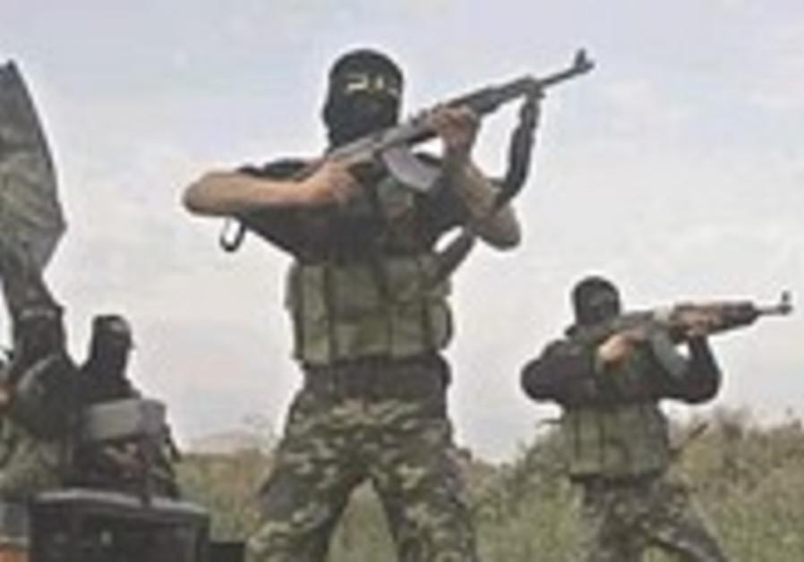 Jihadists training [illustrative]