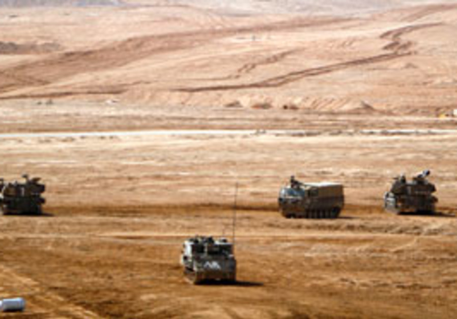An IDF vehicle.
