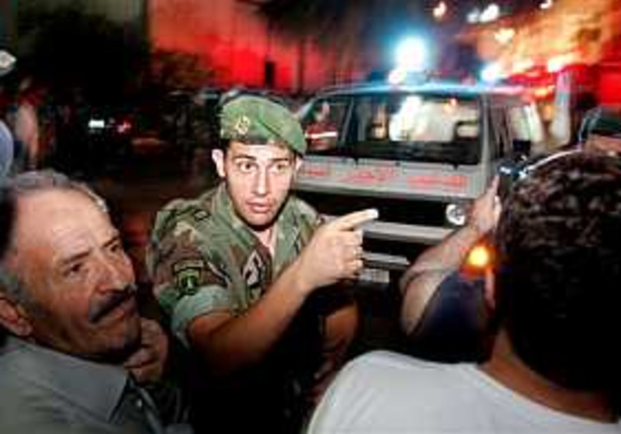 1 dead, 3 hurt in blast near Christian Beirut neighborhood