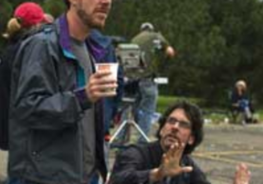 An inside look (from left) - Ethan and Joel Coen o