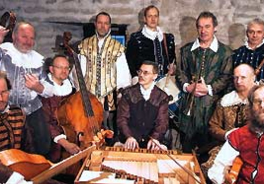 The Hortus Musicus ensemble.
