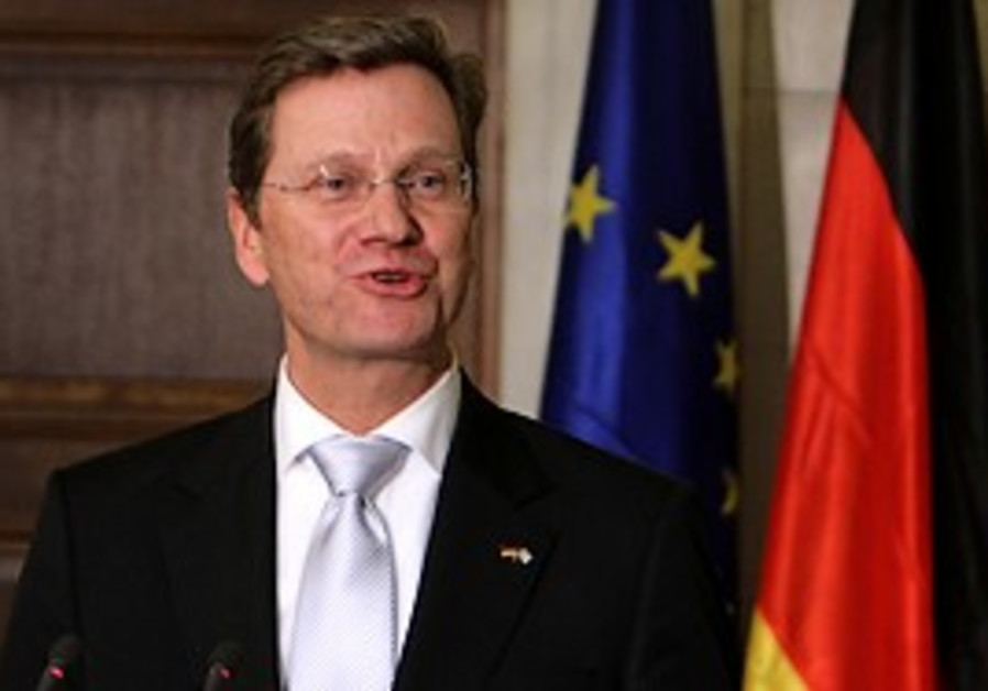 German Foreign Minister Guido Westerwelle.