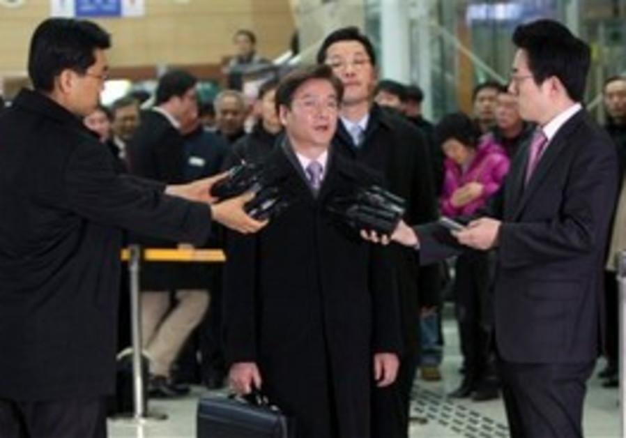 south korean diplomant