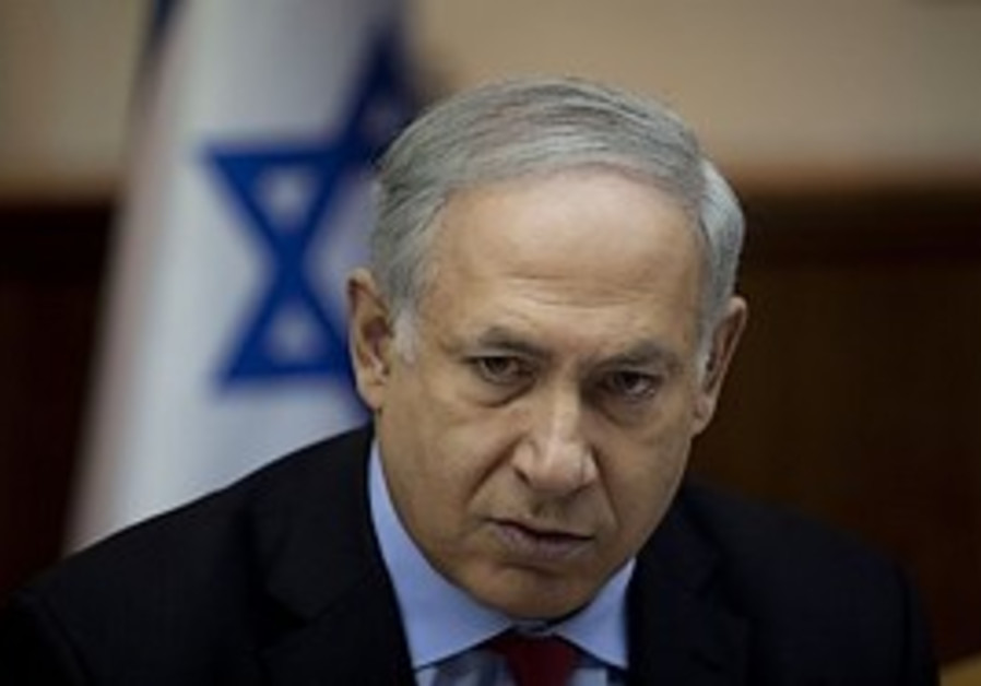 Prime Minister Binyamin Netanyahu attends the week