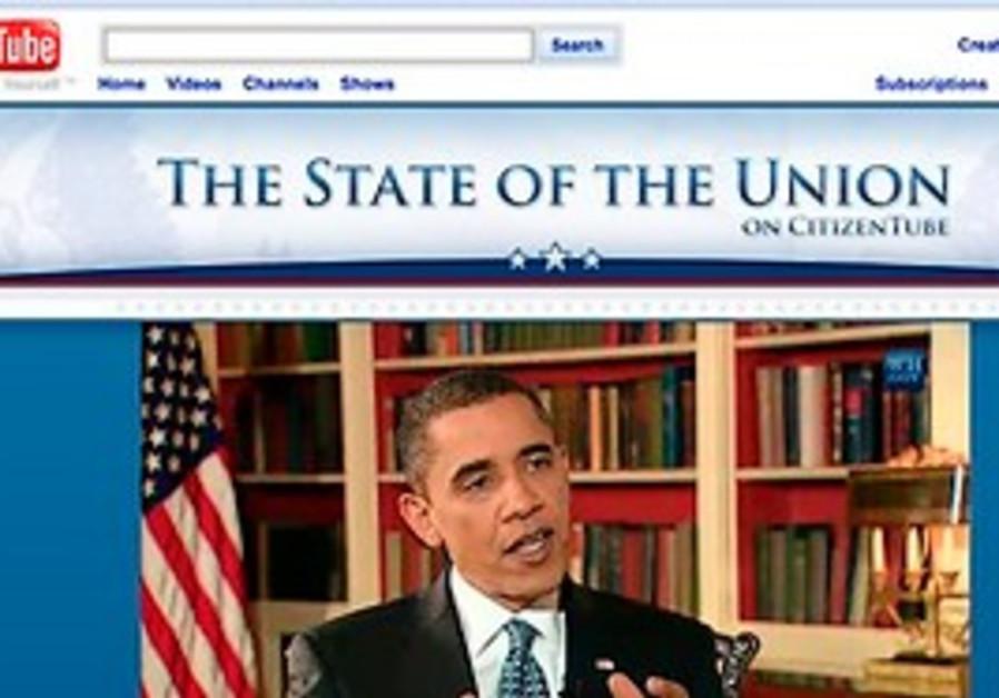 President Barack Obama is seen live on the White H
