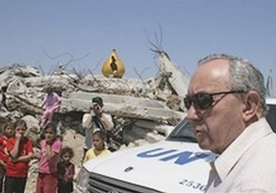 Goldstone in Gaza.