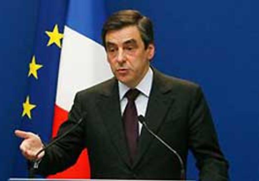 French Prime Minister Francois Fillon.