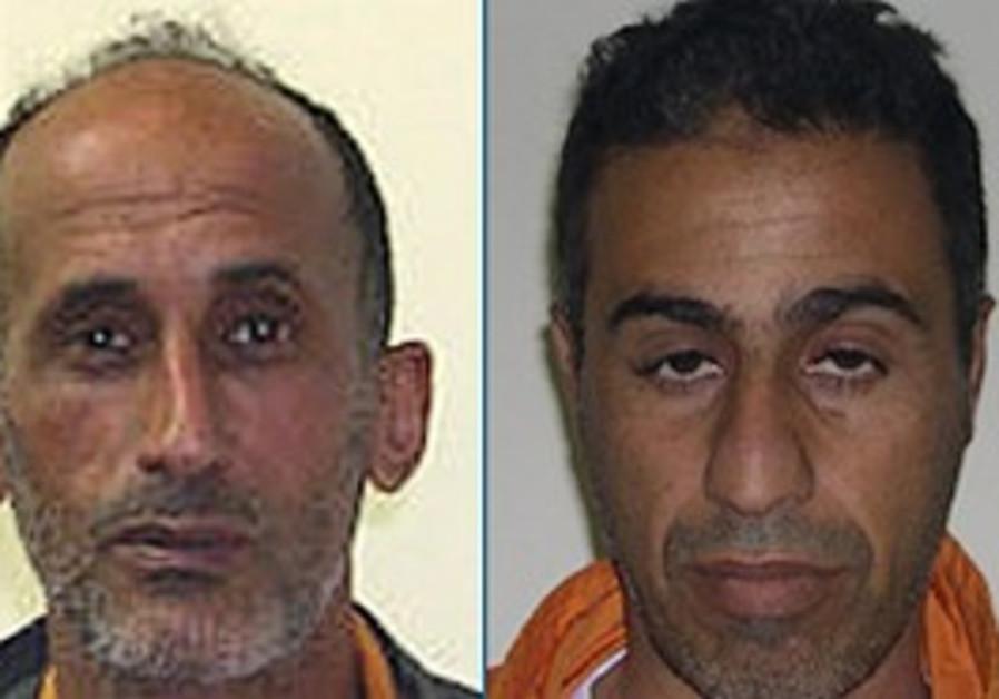 Salamn Abu Atik (right) and Ibrahim Za'arah