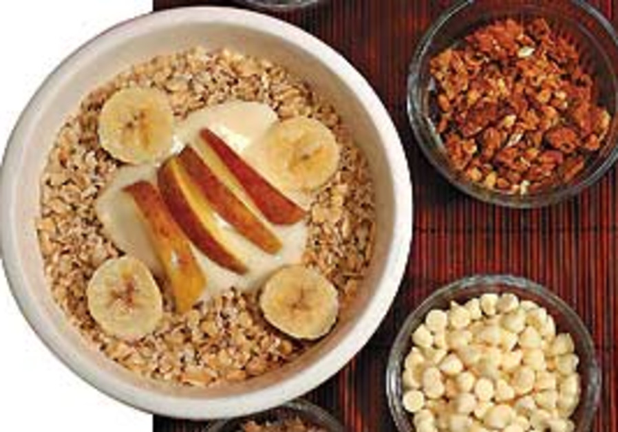 Fix up an oat-based meal.