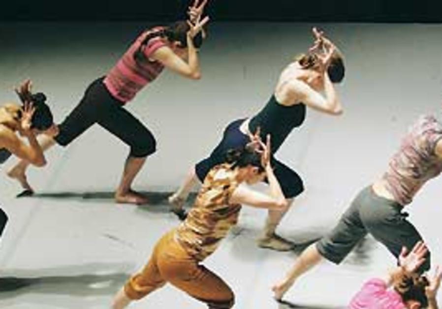 The Batsheva Dance Company performing Ohad Naharin