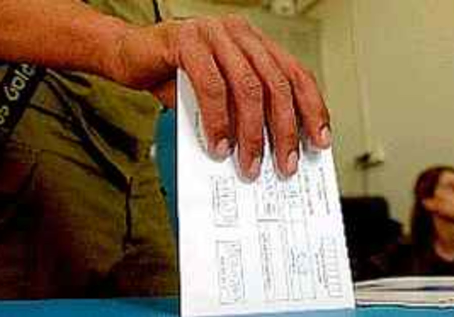 Israelis vote in Knesset election