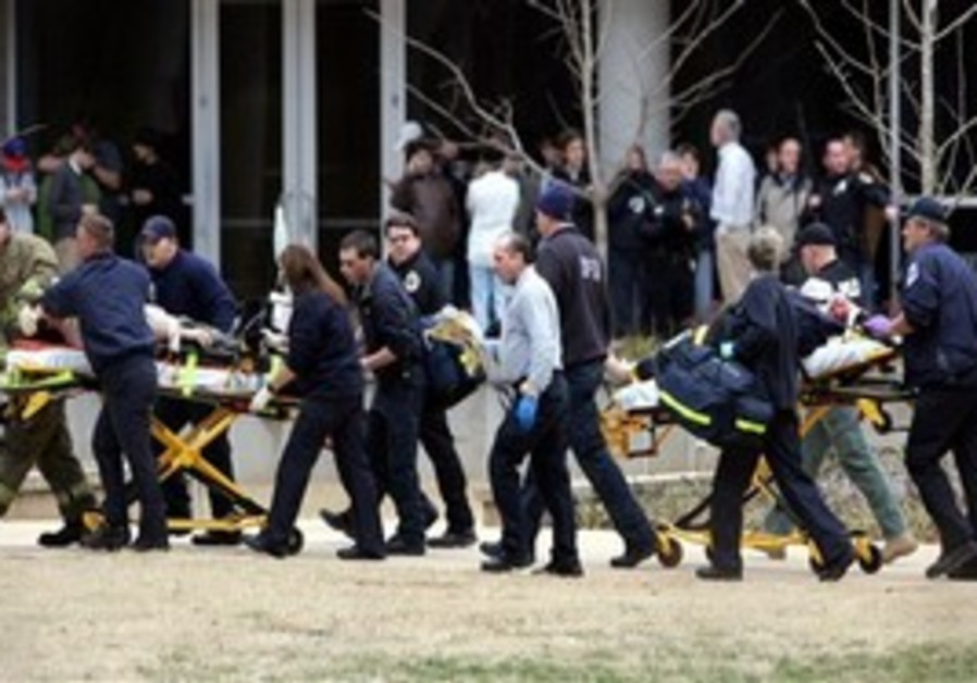 US campus shooting