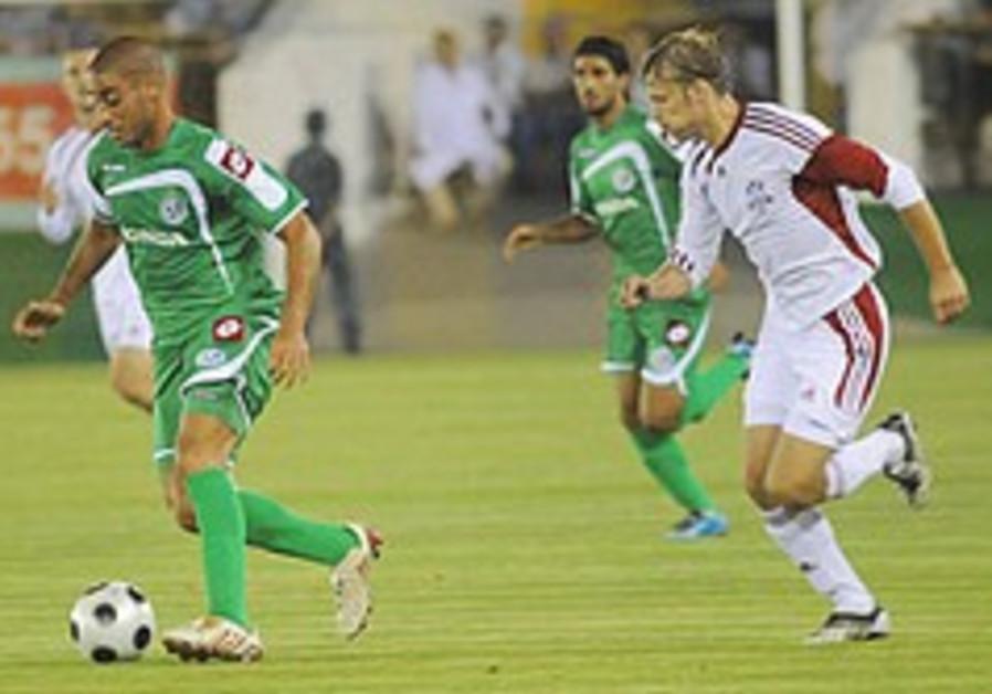 Maccabi Haifa game last week