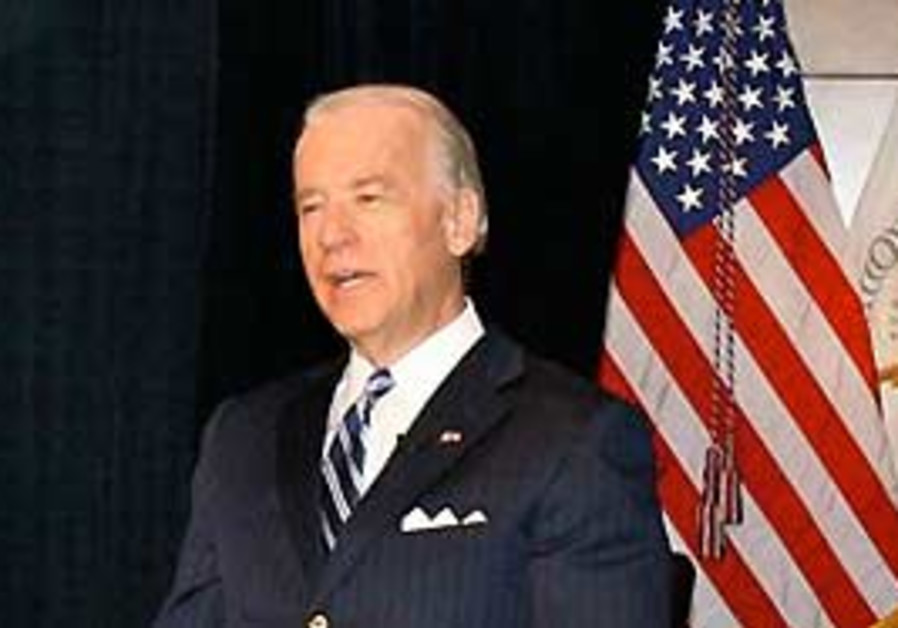 US Vice President Joe Biden.
