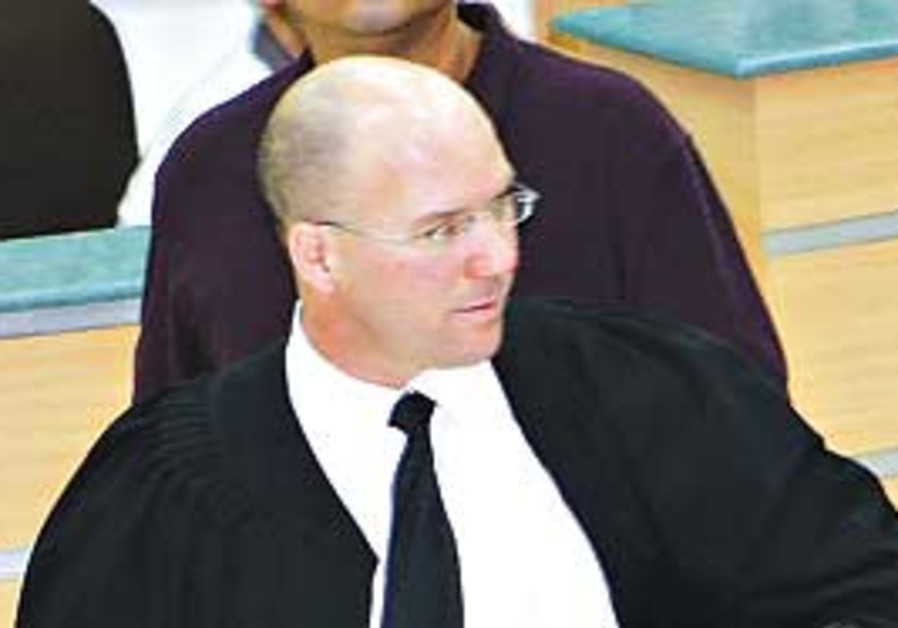 Deputy Jerusalem District Attorney Uri Korb.