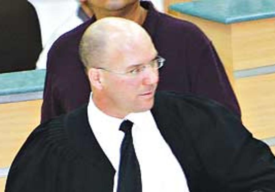 Deputy Jerusalem District Attorney Uri Korb.