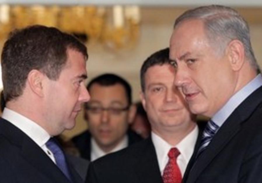 Netanyahu Medvedev