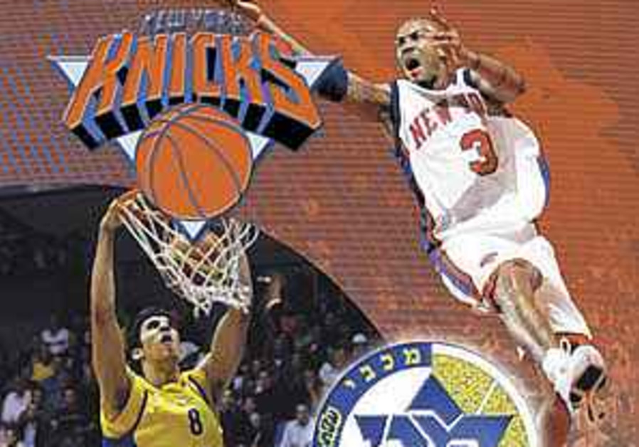 Israeli sites to shine at Knicks game vs Mac. TA