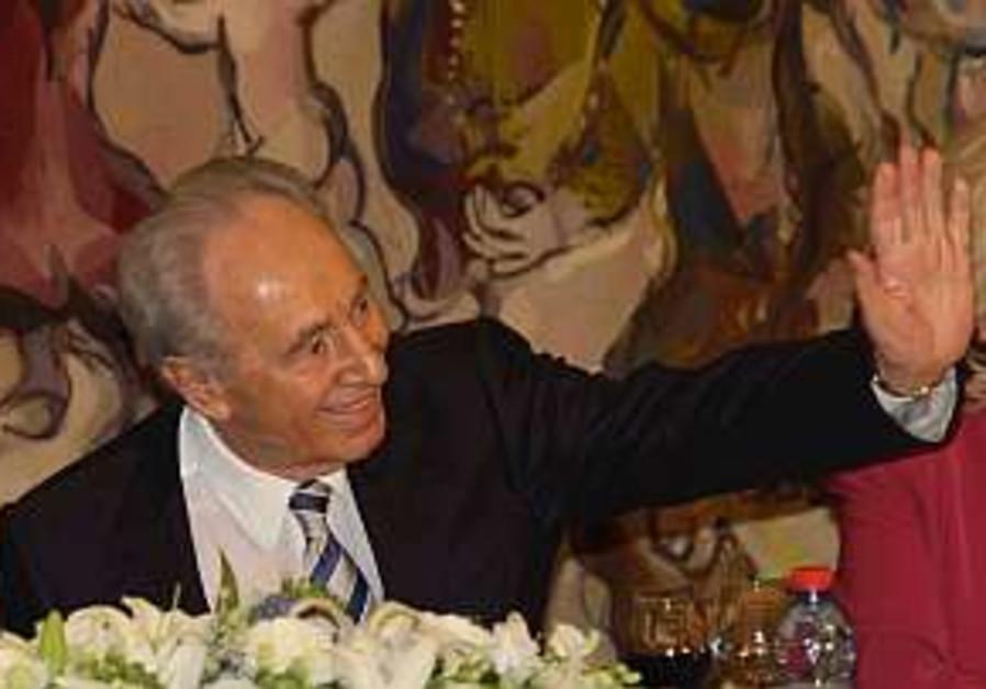 Shimon Peres: 'Am I a loser?' No!