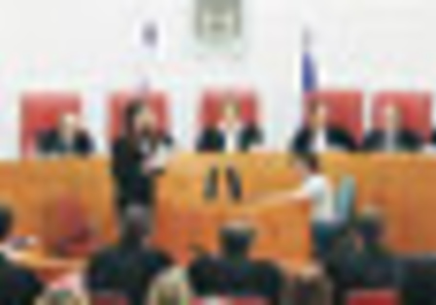 Eleven Supreme Court justices preside over a speci