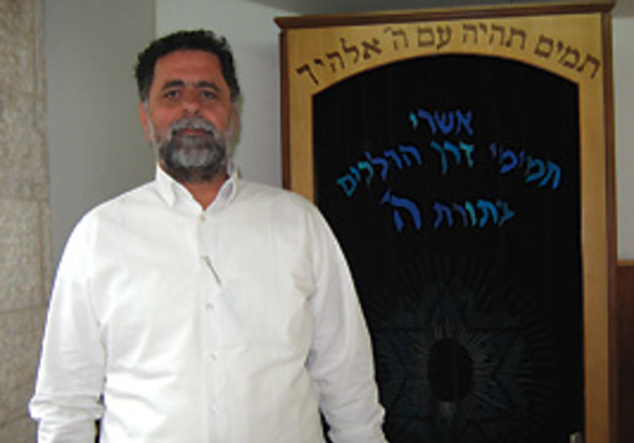 Keren Hateshuva CEO Yoel Hazan.