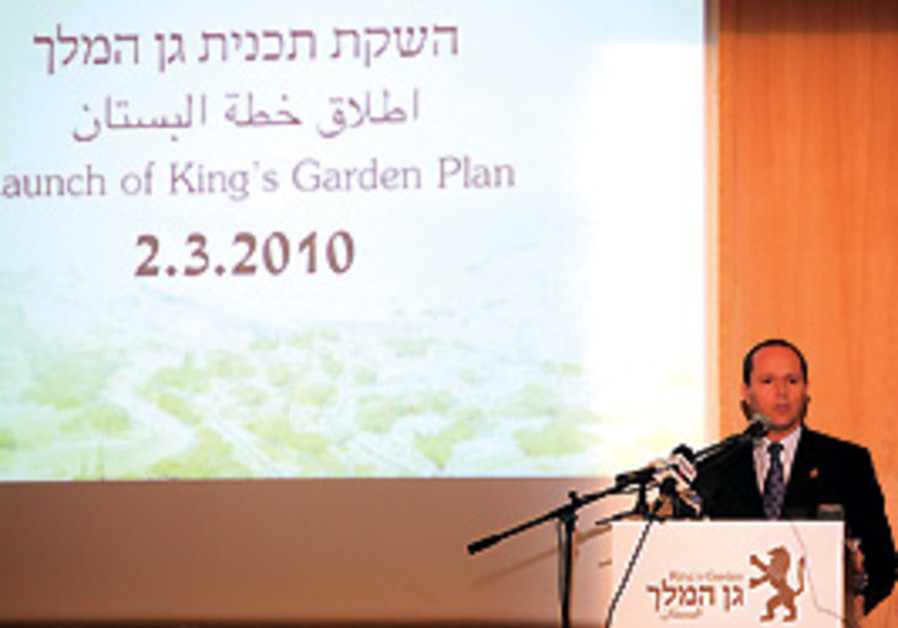 "Nir Barkat presents his plan. ""If not me, then who"