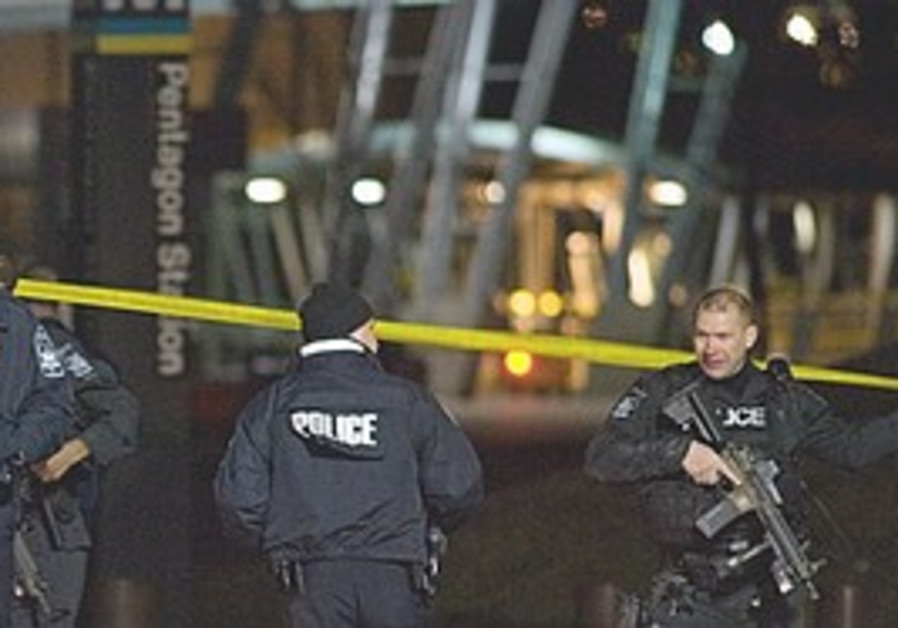 Metro station closed following shooting at Pentago