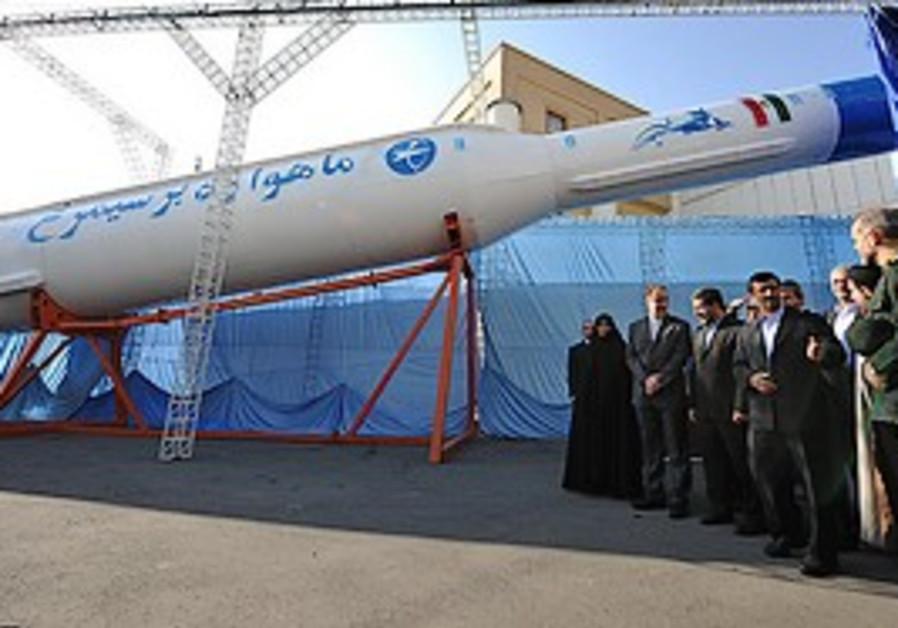 Iran's long-range Simorgh missile