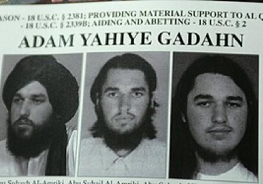 "Adam Gadahn's ""Most Wanted"" add"