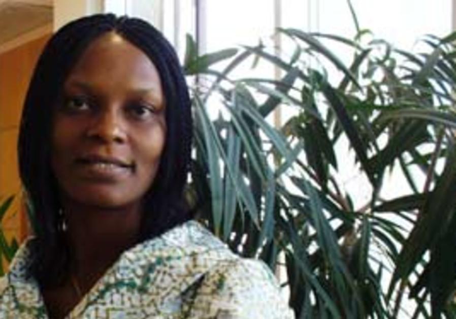 DR. OSE OKOYE of Nigeria spent a year in Jerusalem