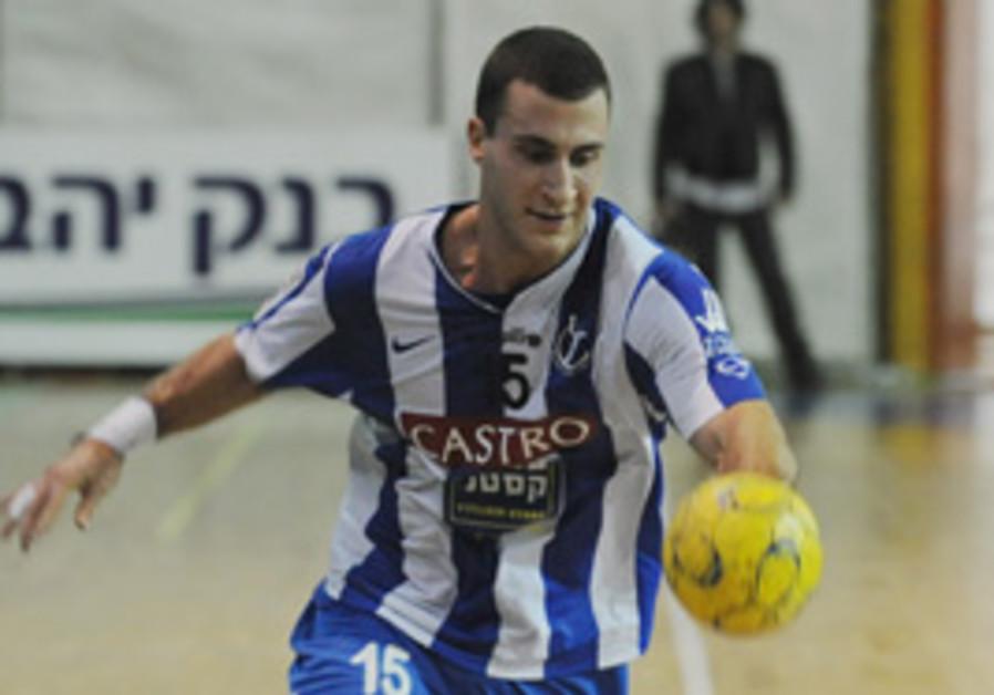 Captain Itzik Halifi of ASA Tel Aviv.