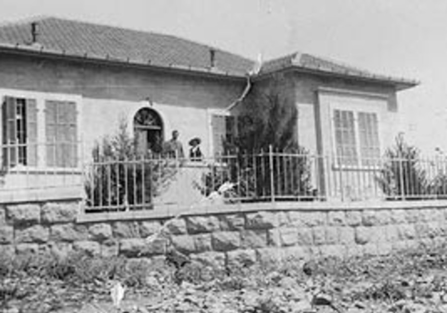 Original German Colony house in 1934.