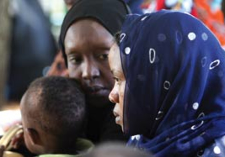 Sudanese refugees in Israel.