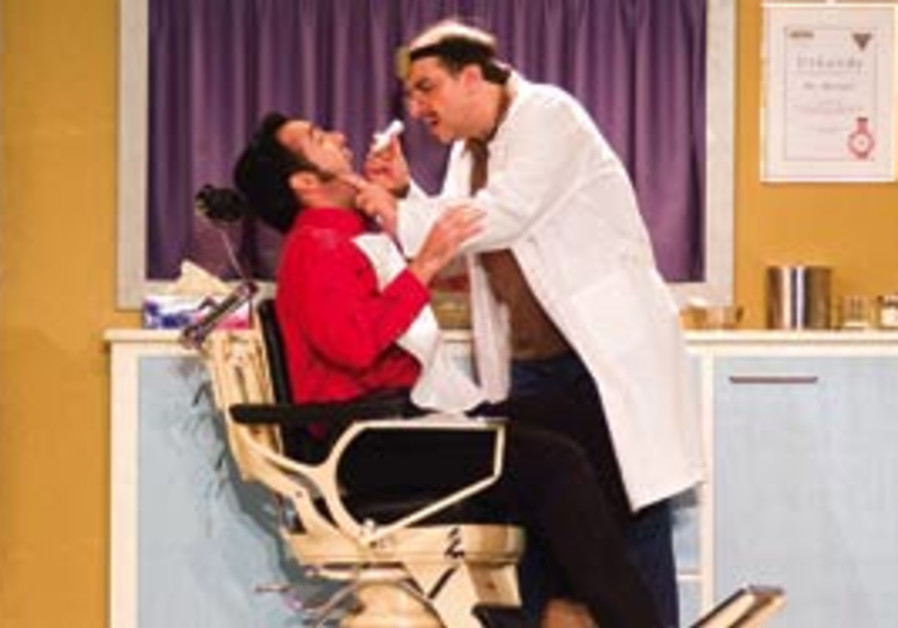 A scene from Hoffman's Barber of Seville.