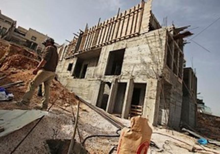 Ramat Shlomo construction.