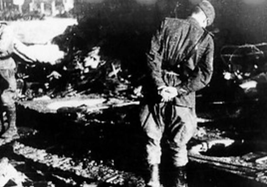 Soviet soldiers during World War II.