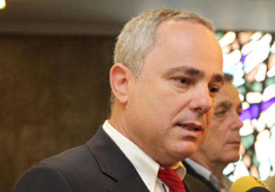 Finance Minister Yuval Steinitz.