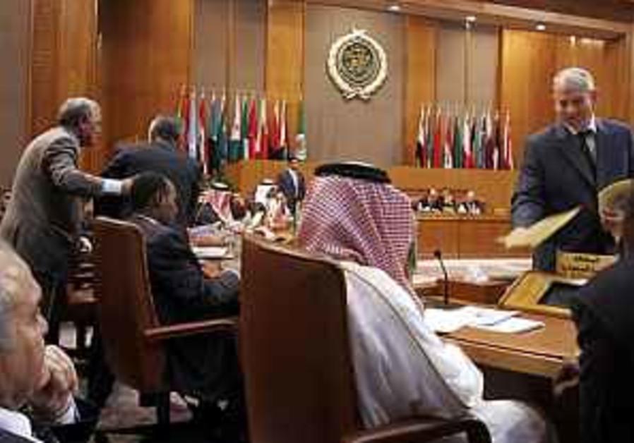 Arab leaders: ME parley 'waste of time'