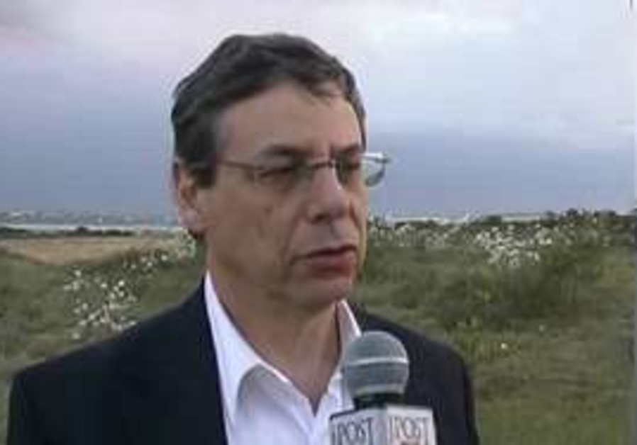 Danny Ayalon at Nativ Haasara