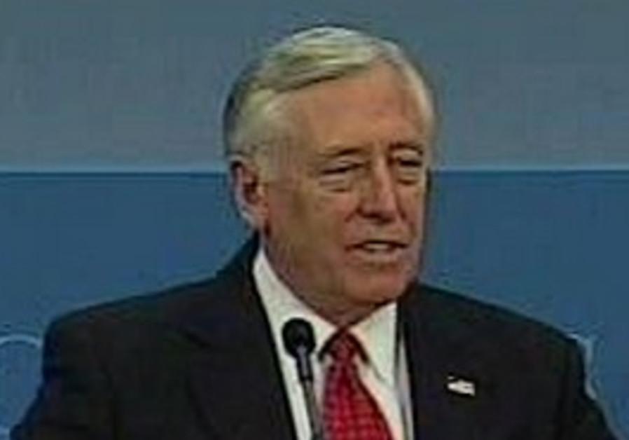 US Congressman Steny H. Hoyer.