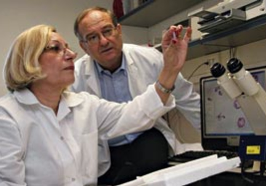 Dr. Lena Lavie and Prof. Peretz Lavie work at the