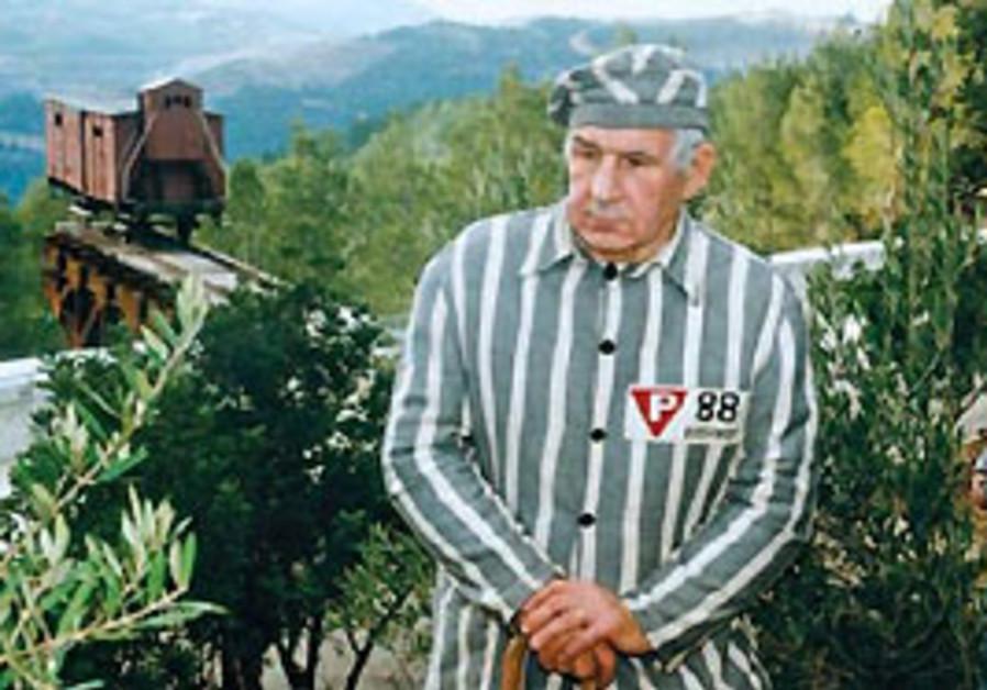 A Holocaust survivor. [illustrative]