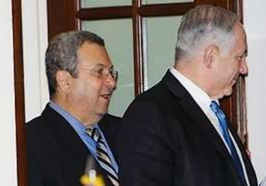 Netanyahu and Barak leave white house