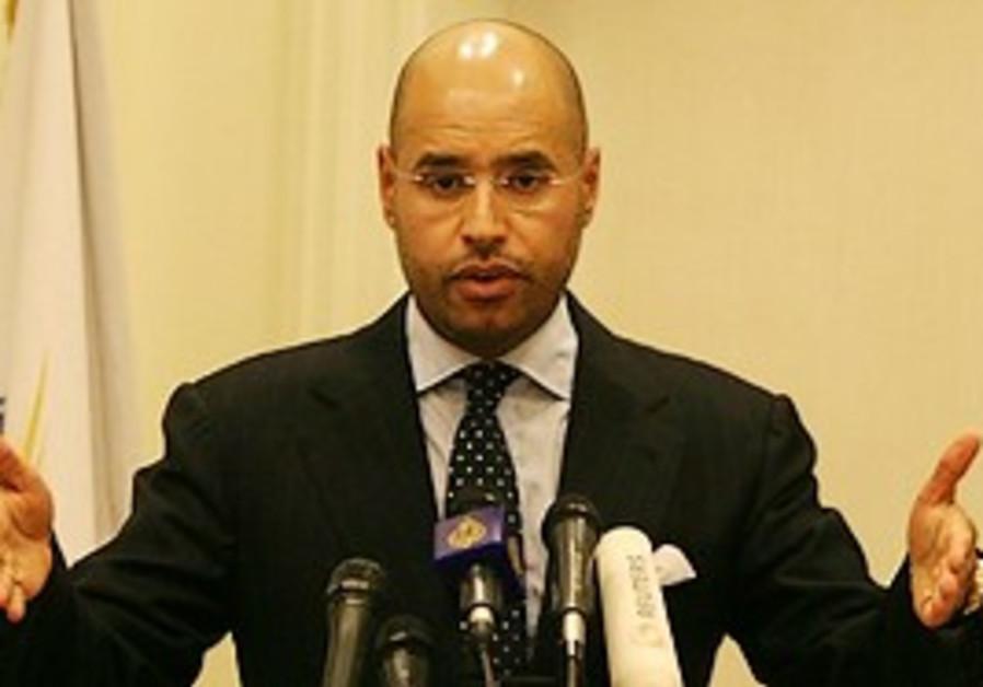 Seif al-Islam Gadhafi, son of Libyan leader Moamma