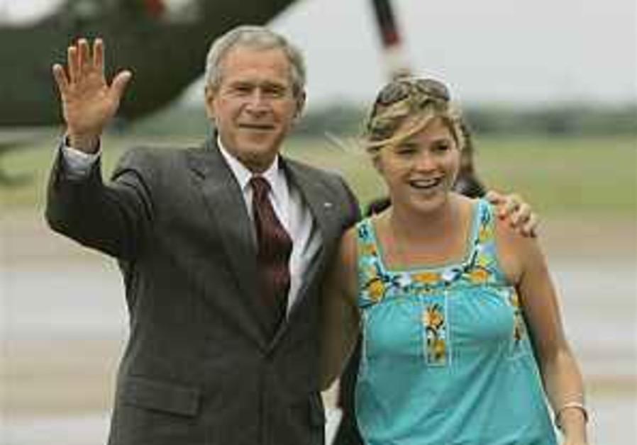 George Bush goes wobbly