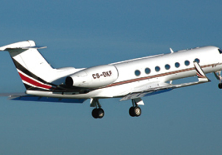 THE IAF Gulfstream jets over Hungary were on a dip