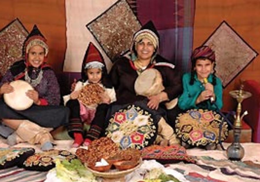 Beit Hatefusoth Passover activities.