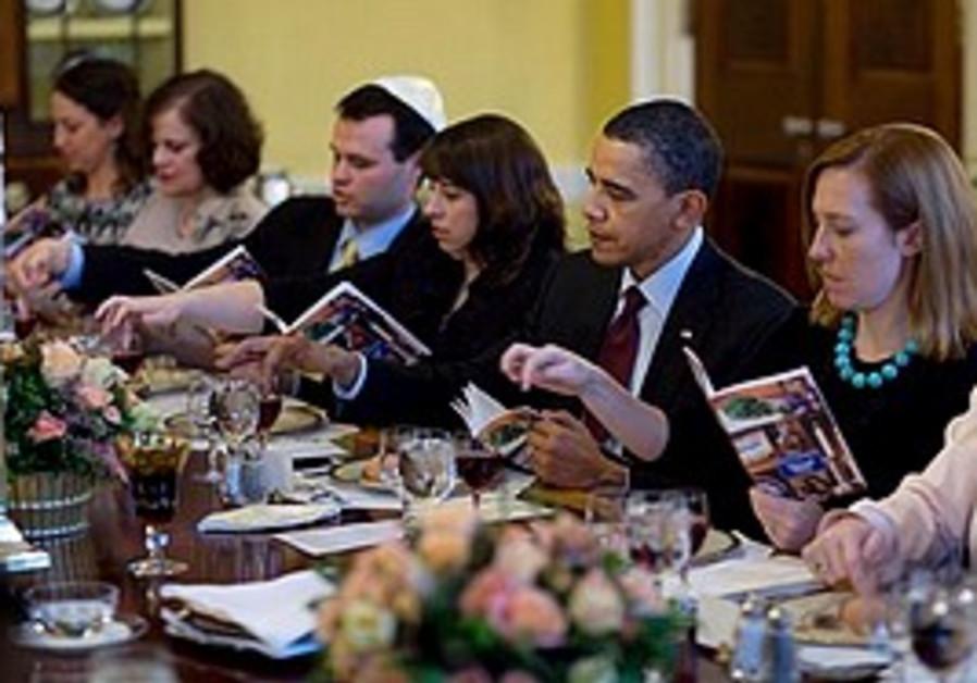 Obama at White House Seder