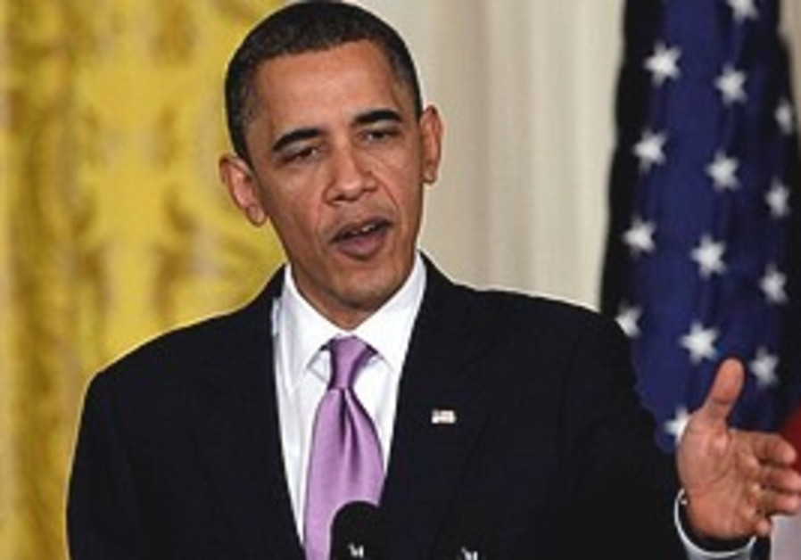 Obama speaks during a joint news conference with F