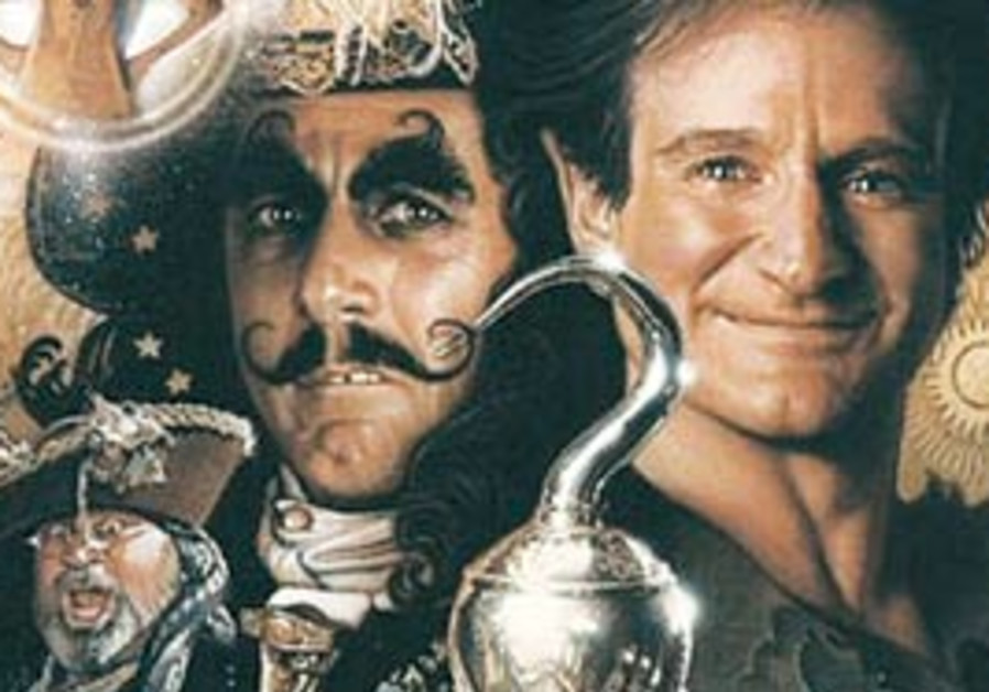 A detail from the poster for the film 'Hook.